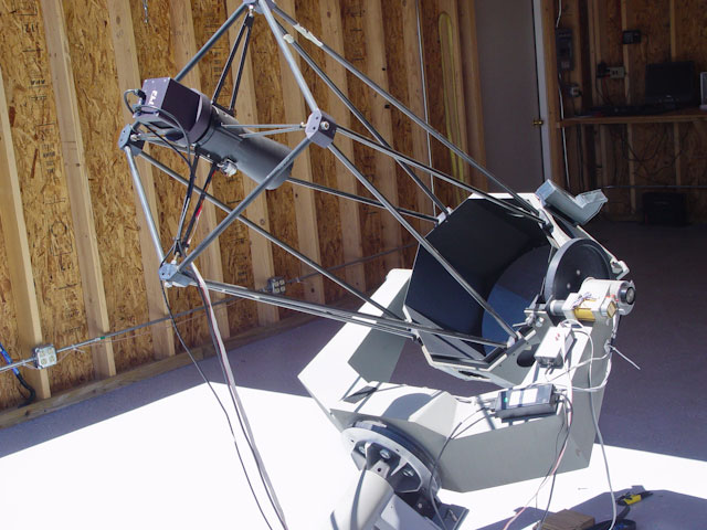 Used at prime focus for the discovery of comet elenin c 2010 x1